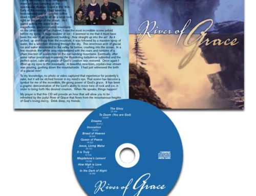River of Grace CD Album Design