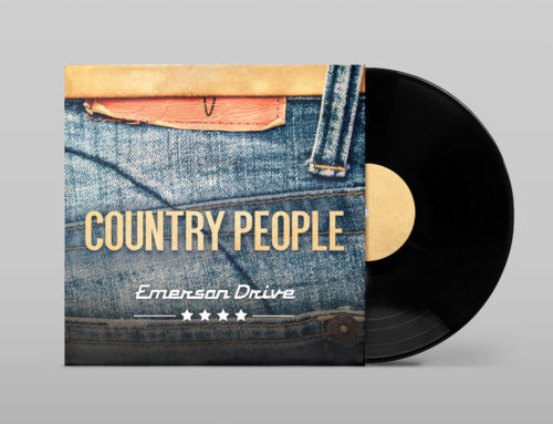Emerson Drive – Country People Album Cover Design